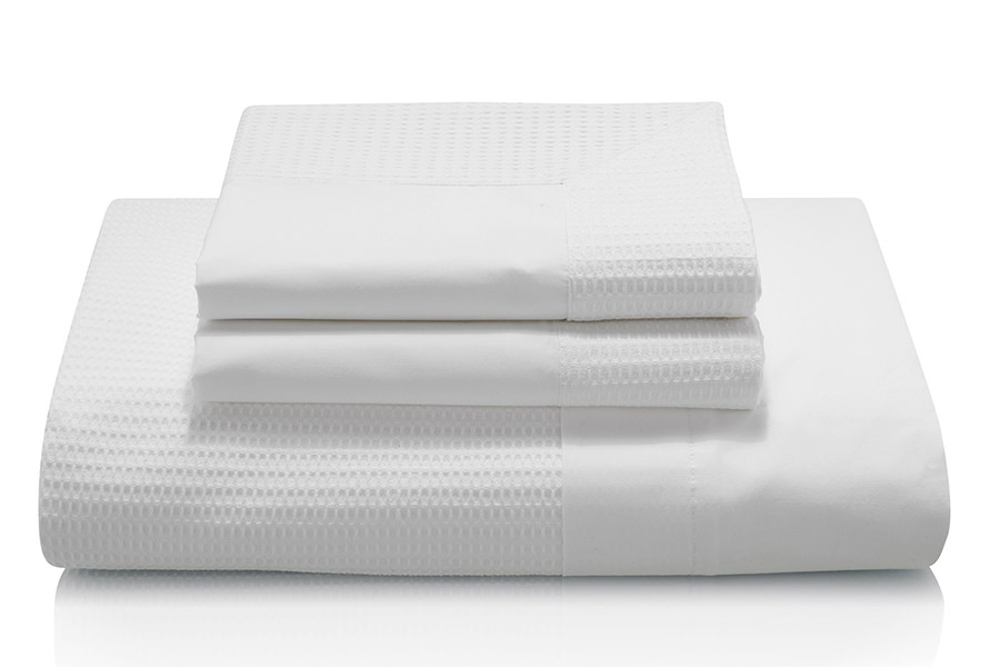 flat Cotton bed sheet per piece